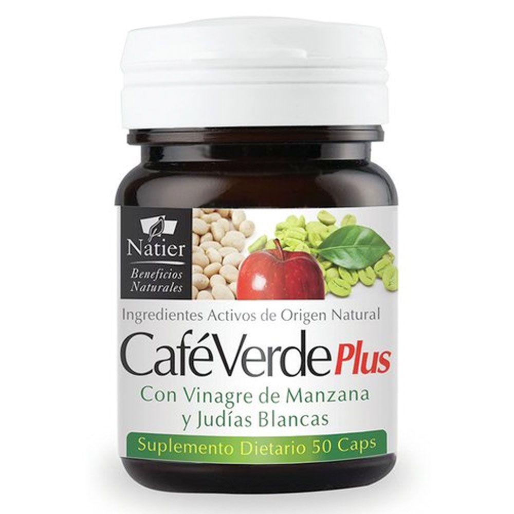 Café Verde Plus Adelgazante Con Ingredientes Activos De Origen Natural Natier 50 Cápsulas Naturales Ifeelgood Tienda Online De Alimentos Saludables